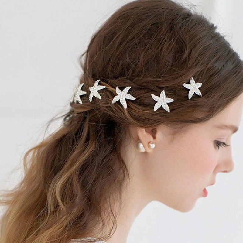 U-shaped Drill Braid Hair Fork Female Hair Tray Hairpin Adult Hairpin Wedding Band Hair Accessories Bride Wedding Accessories