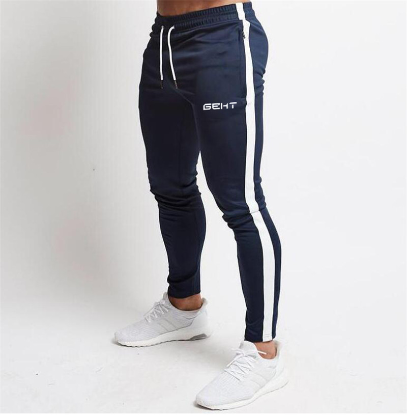 2020 NEW Sports Skinny Pants Men Jogger Sweatpants Gym Fitness Workout Trousers Male Training Running Sports Track Pants Men