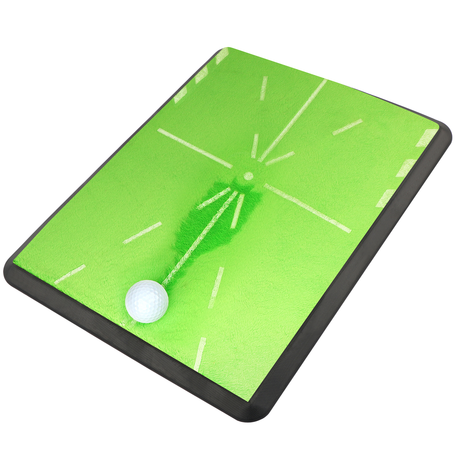 """Champkey 13"""" 17"""" Tracker Golf Practice Hitting Mat   Traces  Analysis & Correct Your Swing Path