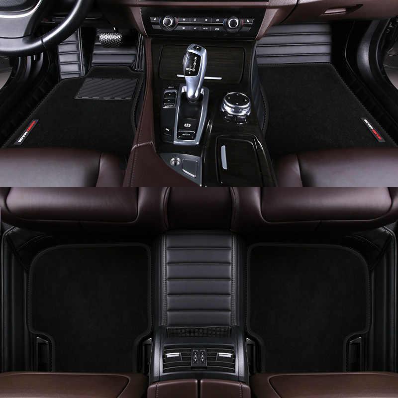 Özel araba kat mat yüksek elastik tel mat Toyota tüm model Corolla camry alphard prado rav4 sequoia corolla 4 runner Hilux