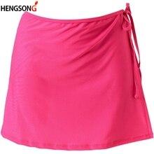 Female Skirts High Waist Girls A-line Mini Tennis Skirt Yoga Running Skirt Lace-up Bandage Sports Skirts Tracksuit Woman