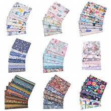 20X25cm,Printed Animal Floral Patchwork Cotton Fabric, Sewing Quilting Needlework Cloth Material For Baby&Child