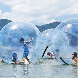 La danse gonflable de boule de marche de l'eau montre la boule de PVC pour des enfants adultes famille Sports de plein air 1.5-2.5m jouets de flotteur de l'eau