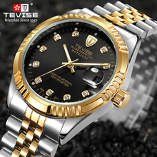 bobo bird men watch waterproof wood stainless steel wristwatch with date and multiple time zone relogio masculino v r06 TEVISE Luxury Brand Men Automatic Watch Stainless Steel Date Waterproof Mechanical Wristwatch Relogio Masculino