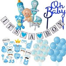 Baby Shower Boy Girl Decorations It's a Boy It's a Girl Balloon Oh Baby Cake Topper Photo Props Gender Reveal Kid Party Supplies baby shower boy girl decorations set it s a boy it s a girl oh baby balloons gender reveal kids birthday party baby shower gifts