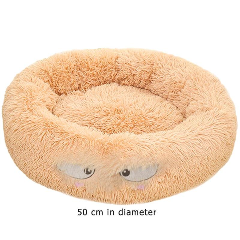 Lamb Velvet Plush Dog Cat Beds Soft Plush Pet Sofa Waterproof Bottom Nest Baskets Sleeping Cushion Household Supplies 21