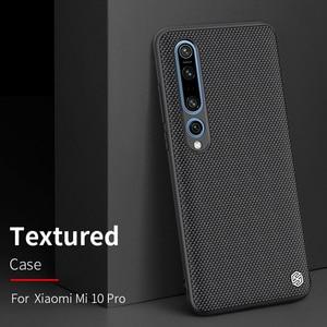 Image 2 - case for xiaomi mi 9 /mi9 Explore xiaomi mi 10 mi10 Pro cover case NILLKIN Textured Nylon fiber case back cover durable non slip
