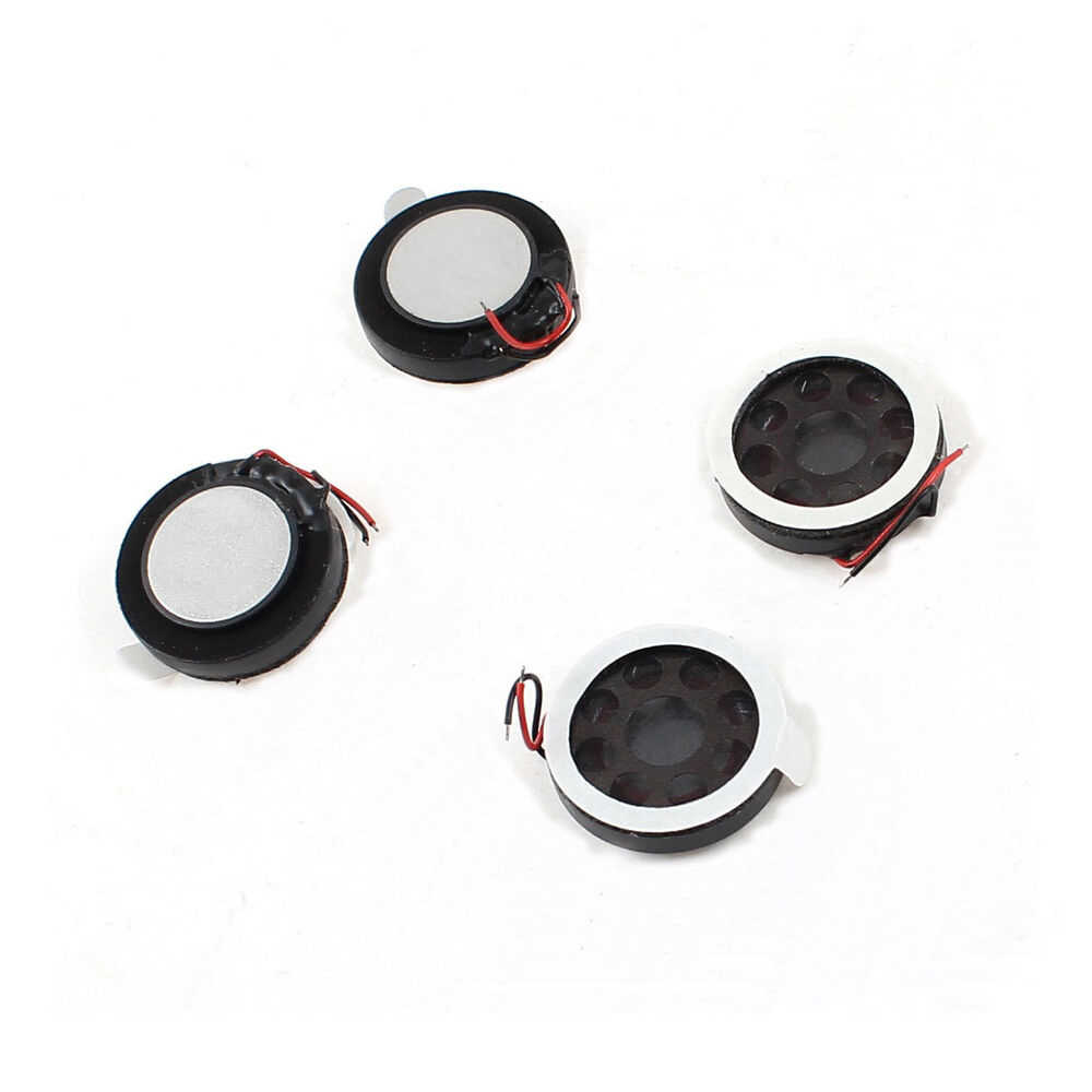 10pcs 8 1W 1 8R Ultra-fino Orador ohm Watt Altifalante Diâmetro espessura 16 MILÍMETROS Com Fio alto falante Speaker Para Moblie Telefone