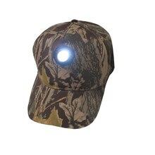 Регулируемый налобный фонарь, головной светильник, кепка, камуфляжная, для рыбалки, для путешествий, езды на велосипеде, ночной рыбалки, кепка, прочная, для охоты, кемпинга