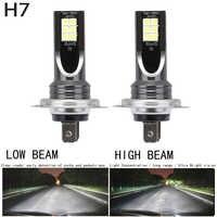 2 teile/satz H7 110W LED Auto Scheinwerfer Auto Front Lampe Super Helle Weiß Strahl 6000K 12V Auto modellierung Nebel Licht Kit