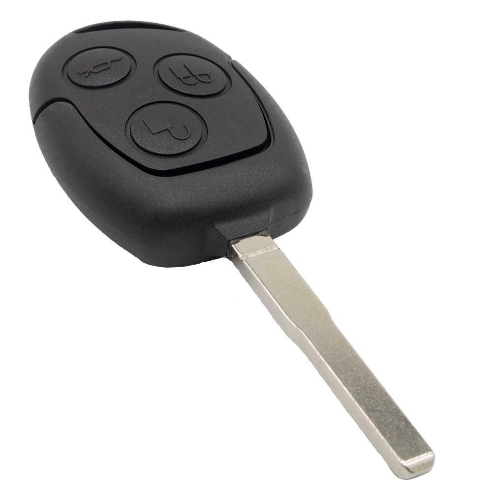 WhatsKey 3 أزرار سيارة مفتاح بعيد فوب شريحة جهاز إرسال واستقبال 4D60/4D63 433Mhz دعوى لفورد التركيز 3 مونديو فييستا الانصهار FO21 شفرة