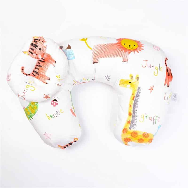 Подушка для грудного вскармливания для новорожденных; подушка для грудного вскармливания; u-образная подушка для грудного вскармливания; хлопковая Подушка для кормления - Цвет: b