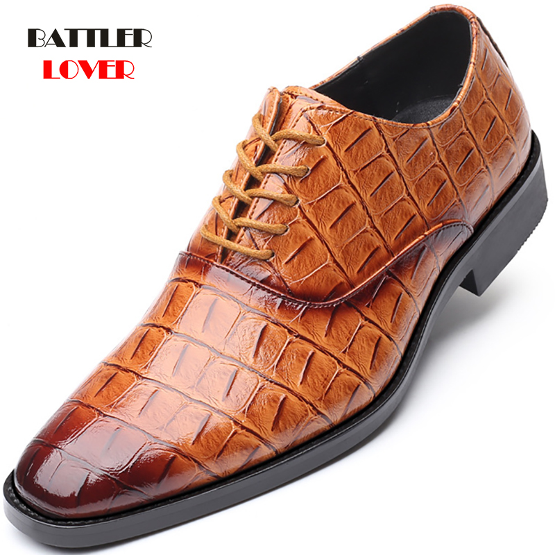 2019 Men Formal Shoes Office Social Designer Men