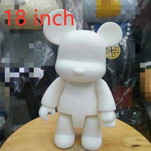 Art-Figure-Toys Dolls Painting Drawing DIY White for Student Qee 2pcs/Lot Vinyl Do-It-Yourself
