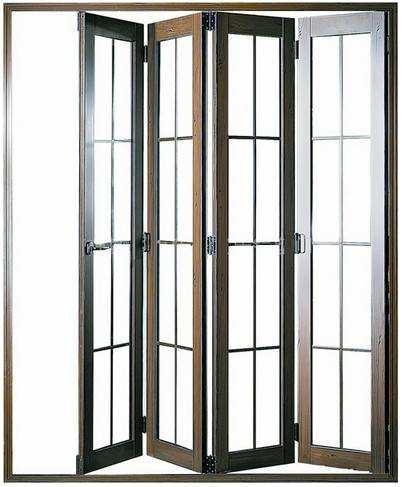 Hench China Wooden Aluminum Doors Windows  Bi-folding Doors Wholesale Factory Hc-a4