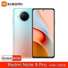 Global ROM Xiaomi Redmi Note 9 Pro 6GB 128GB 5G Smartphone Snapdragon 750G 120Hz 108MP Quad Camera 4820mAh 33W Fast Charging