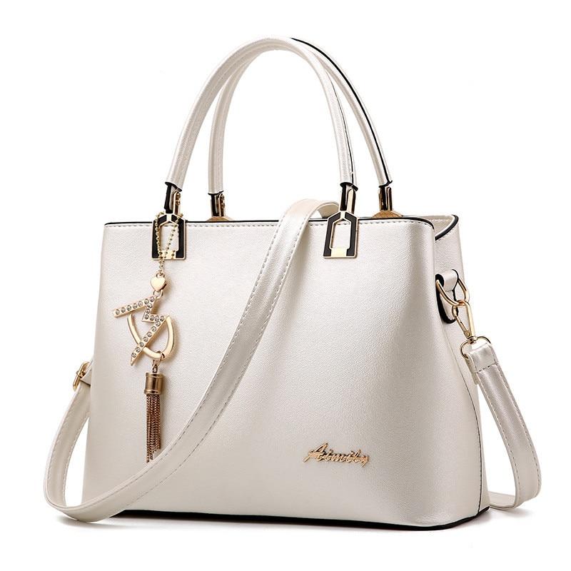Women Bag Shoulder Handbag Women Vintage Messenger Bags Fashion Luxury Top-Handle Composite Bag Purse Wallet Leather 1