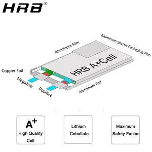 Image 5 - Hrb 3s 4S 4000mah lipo bateria 14.8v 7.4v 11.1v deans xt60 t 5S 6s 2s 22.2v 18.5v 1s rc fpv aviões zangão caminhão carro 60c peças