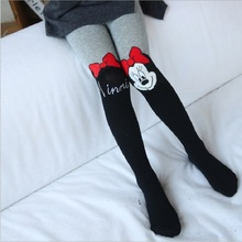 Girls Tights And Stockings Cartoon Cotton Patchwork Tights For Girls Children Accessories