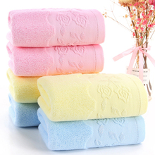Double-sided Cotton Towel 32-strand Thickened Cotton Face Towel Soft Bath Towels Cover For Kitchen Cotton Swimming Bath Towels