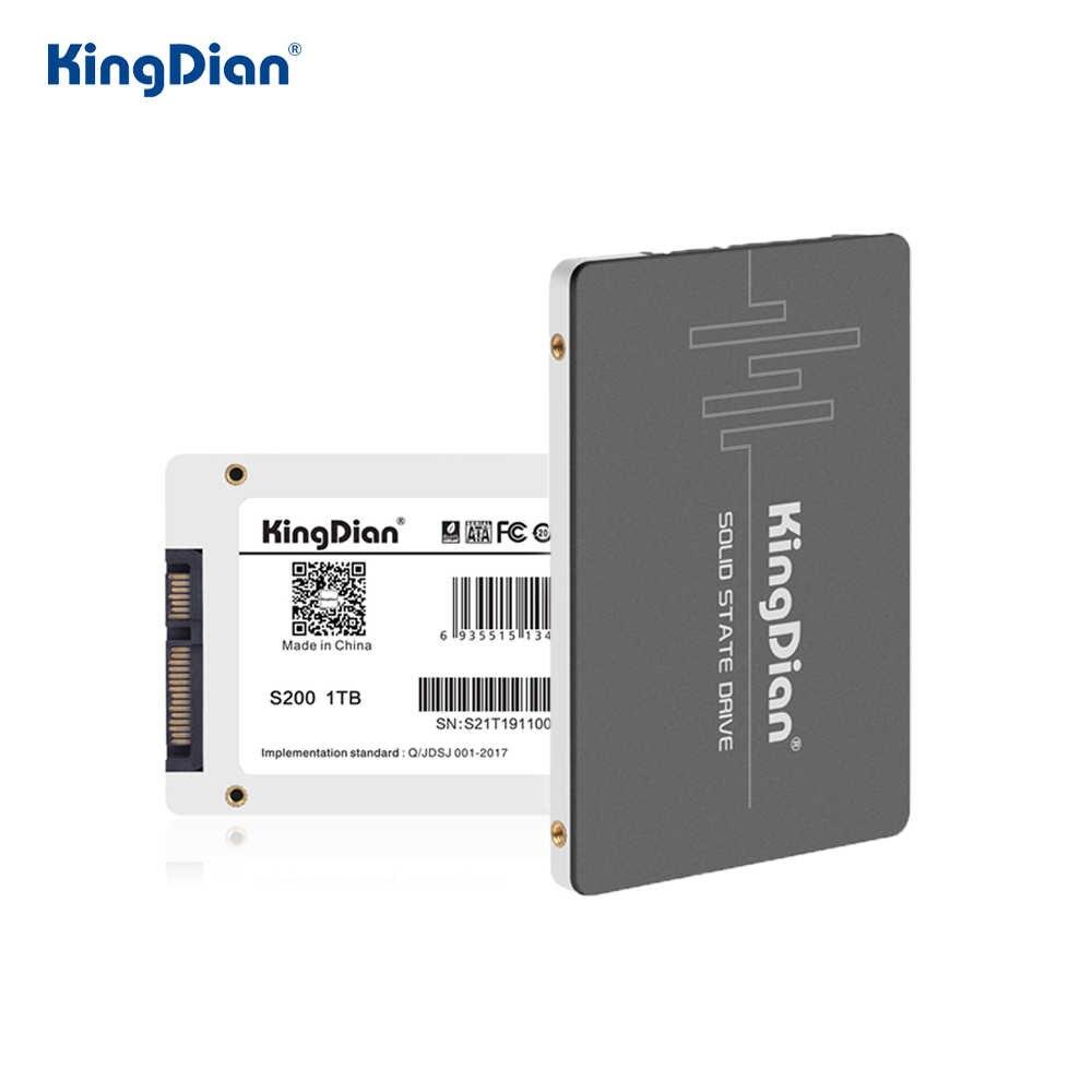 S370 Kingdian 512GB SSD 2,5 zoll HD SATAIII SSD für Laptops interne solid-state drive mit 3 jahre garantie