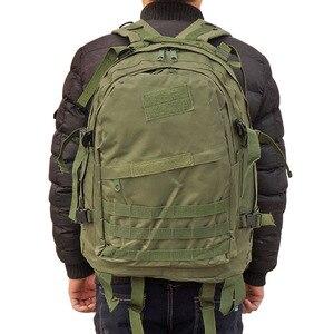 Image 3 - 40L del Sacchetto Tattico Army Molle Militare di Arrampicata Allaperto Zaino di Alpinismo di Campeggio di Caccia Trekking Viaggio Zaino Impermeabile