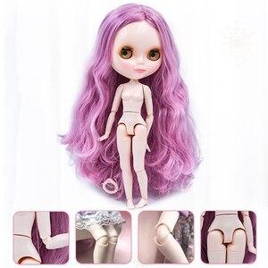 Image 5 - Neo NBL muñeca Blyth cara brillante personalizada, 1/6 OB24 BJD Ball muñeca articulada muñeca Blyth personalizado s para niña, regalo para colección