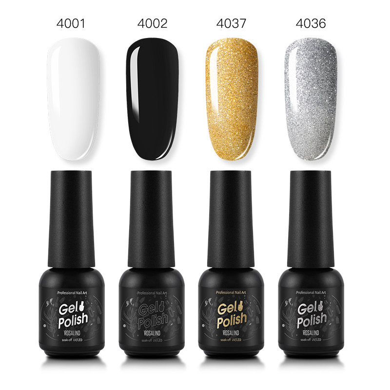 ]Best DealROSALIND Kit Varnish Nail-Kit Manicure-Nail-Set Hybrid Poly-Gel Acrylic Top-Color Semi-Permanent