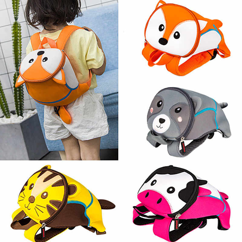 2020 Anti-verloren Cartoon Kinder Rucksäcke kindergarten Schul Tier Kinder Rucksack Kinder Schule Taschen Mädchen Jungen Rucksäcke