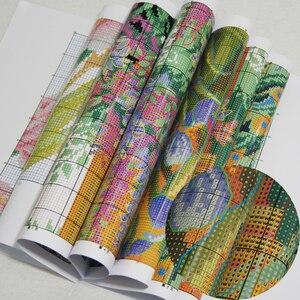 Image 4 - Joy Sunday the Iris Counted DIY Handmade DMC 14ct and 11ct Cross stitch kit and Precise Printed Embroidery set Needlework