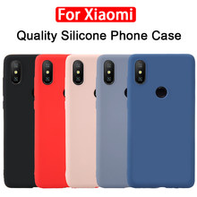 Silicone Phone Case on the for Xiaomi Redmi 6 Pro Xiomi Mi A2 Lite Mia2lite mia2 a2lite Redmi6 pro redmi6pro 6pro Soft TPU cases(China)