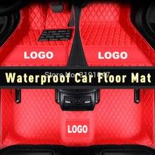 CARFUNNY с правым приводом водонепроницаемые автомобильные коврики для toyota land cruiser 200 mercedes slk r171 toyota fortuner ковровые вкладыши