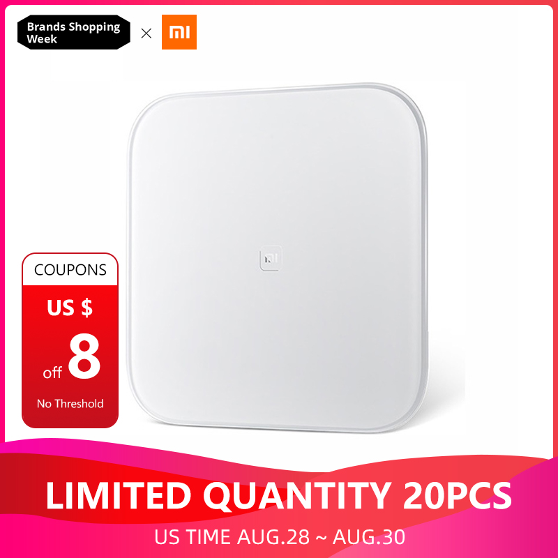 Xiaomi Smart-Weight-Scale Connect Mifit Bluetooth-4.0 Original Digital With App-Kg LB
