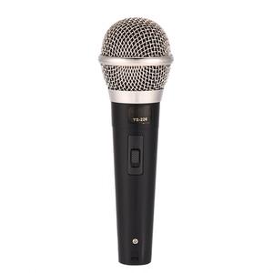 Image 2 - Microphone karaoké portable professionnel filaire Microphone dynamique clair micro Vocal pour karaoké partie chant musique Performance chaude