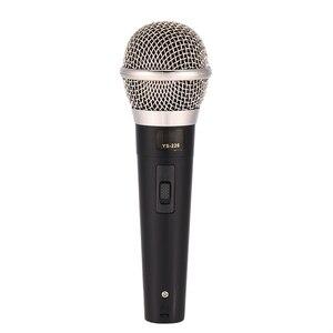 Image 2 - קריוקי מיקרופון כף יד מקצועי Wired דינמי מיקרופון ברור קול מיקרופון לקריוקי חלק ווקאלי מוסיקה ביצועים חם