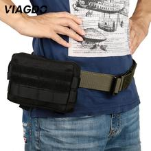 Men Waist Bag Tactical Waist Pack Outdoor Bag Pouch Military Camping Hiking Waist Water Bottle Belt Bags Camouflage Waist Fanny protector plus y113 outdoor sports bag camouflage nylon tactical military waist pack hiking running bag belt hip bag 5 5 mobile