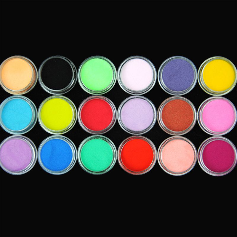 18 Pcs X Epoxy Pigment DIY Epoxy Crafts Making Tools Shiny Powder Luminous Shine Sequins Filler