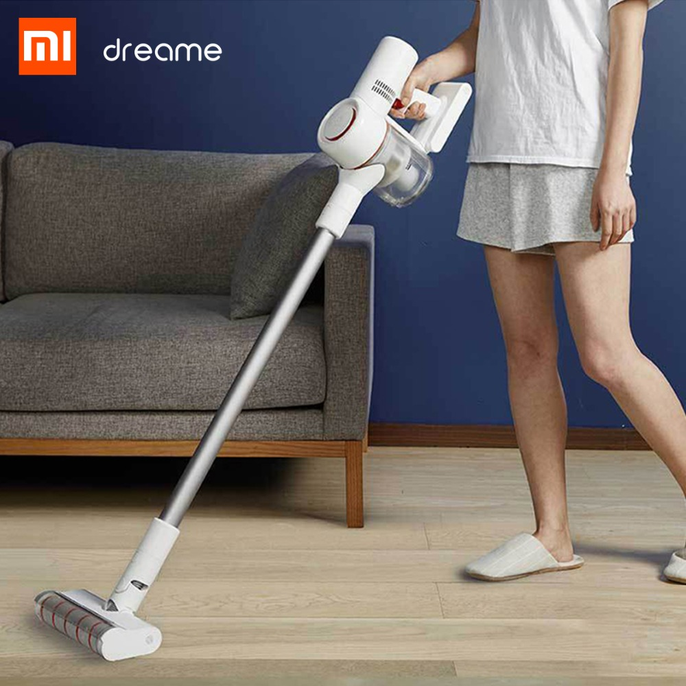 Image 5 - Xiaomi Dreame V9 vacuum cleaner Handheld household Portable Wireless Cordless cyclone Suction Dust Collector For Home Car-in Vacuum Cleaners from Home Appliances