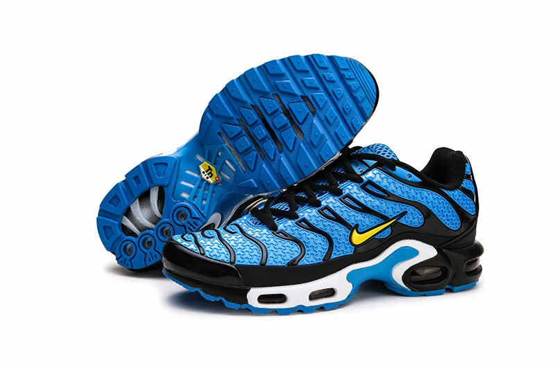 NIKE AIR MAX MAIS TN dos homens Respirável Running shoes Sports Sneakers Lace-Up plataforma materiais kpu Tênis 40 -45