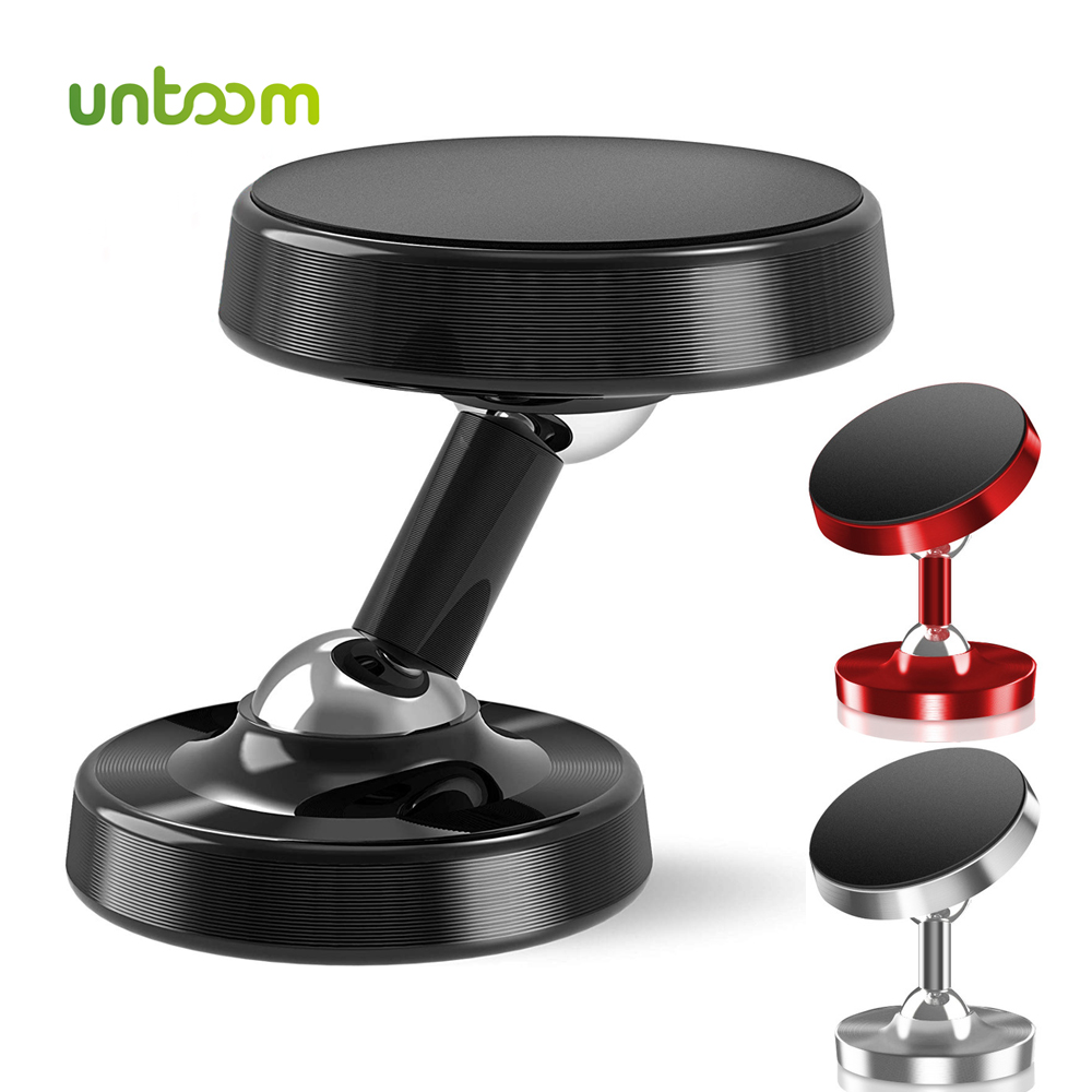 Untoom Magnetic Car Phone Holder In Car Mobile Phone Holder Stand Universal Dashboard Magnet Holder For IPhone 11 Pro Max Huawei