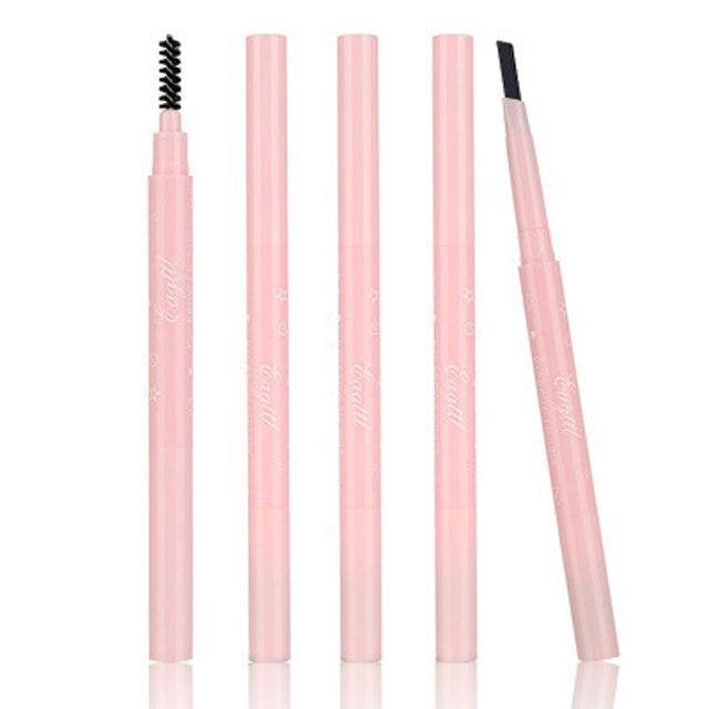 MB 5 couleurs sourcil sourcils stylo fourche pointe croquis encre oeil tatouage teinte crayon étanche longue durée maquillage cosmétique