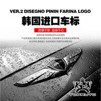 For Hyundai Genesis South Korea imported wings car logo special modification
