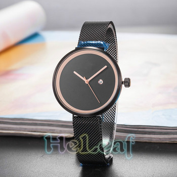 цена на Luxury Fashion Women Watches Silver Gold Black Magnetism Stainless Steel RD Band Quartz Watch Female Clock Montre Femme Feminino
