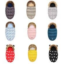 Теплые спальные мешки для новорожденных, конверты, спальные мешки, зимняя детская коляска, спальный мешок, утолщенная теплая детская коляска, муфта для ног, инвалидная коляска