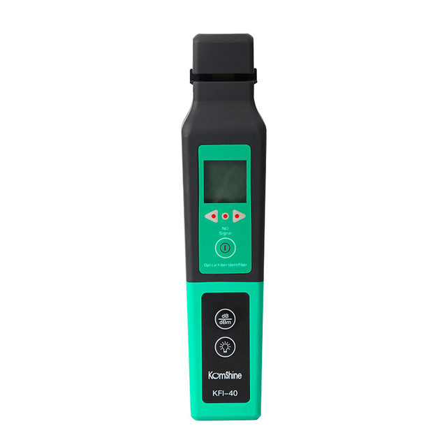 Handheld Optical Fiber Identifier Live Fiber Optical Identifier  with Built 750nm-1700nm SM and MM fiber cable FTTH Testing Tool