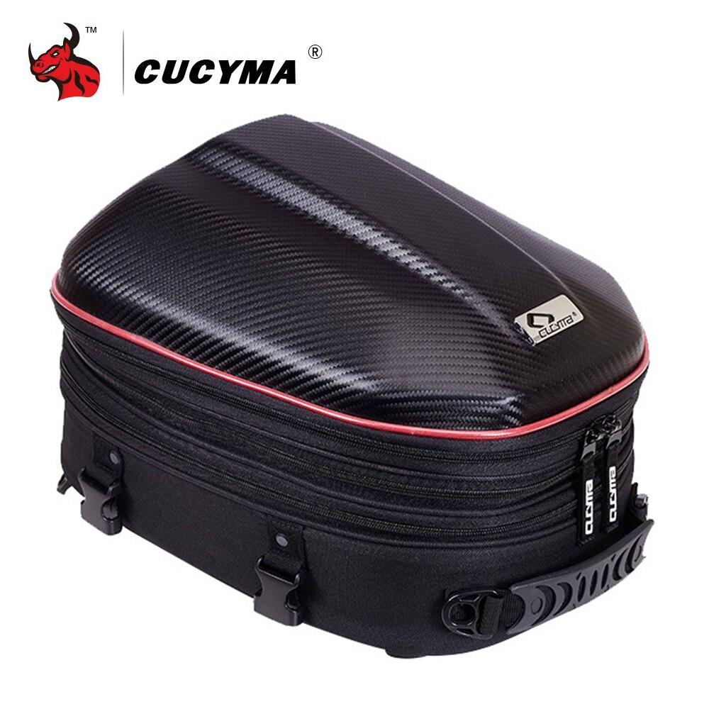 Сумка для мотоцикла CUCYMA, водонепроницаемая сумка для хвоста мотоцикла, Задняя сумка, рюкзак для заднего сиденья, сумка через плечо, комплект...