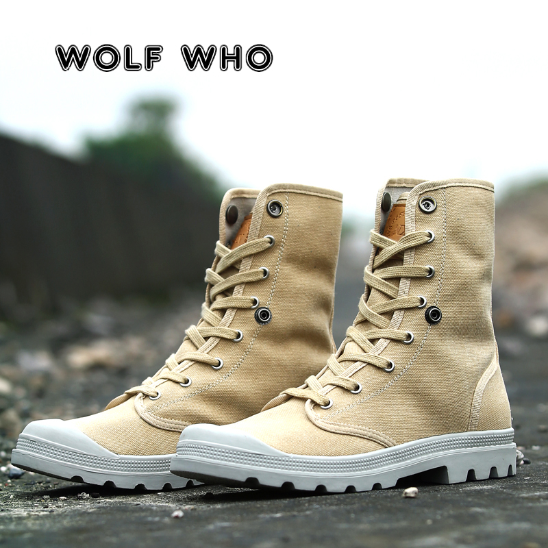 WOLF WHO Brand Hot Newest Keep Warm Winter Boots Men High Quality Wear Resisting Casual Shoes Working Fashion Male Boots X-187