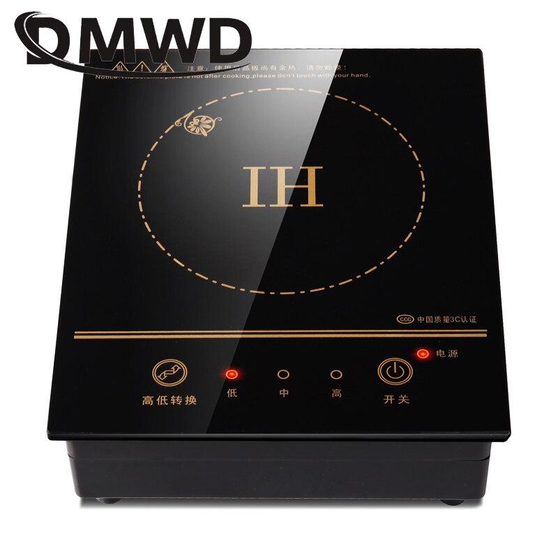 Многофункциональная электрическая мини-индукционная плита DMWD с нагревательной тарелкой для приготовления чая, кофе, лапши 6