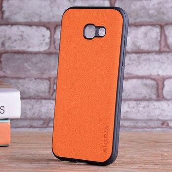 Galaxy A5 2017 Leather Skin Case