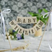 Sunflower birthday custom name Baby Decor Custom Personalized  Name Baner Baby Girl Burlap banner Garland Bunting shower decor